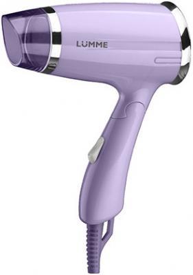 Фен Lumme LU-1042 лиловый аметист фен lumme lu 1041 1200вт 2реж скл ручка фиолетовый