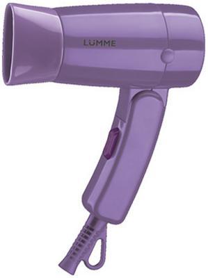 Фен Lumme LU-1040 фиолетовый турмалин электрошашлычница lumme lu 1270