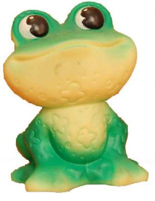 Купить Резиновая игрушка для ванны Огонек Лягушка 11 см С-490, зеленый, Игрушки для купания