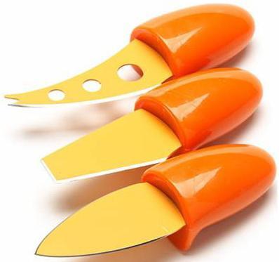 Набор ножей Mayer&Boch МВ-24188-1 3 предмета для сыра оранжевый