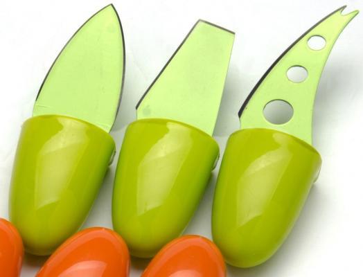 Набор ножей Mayer&Boch МВ-24188 3 предмета для сыра зеленый