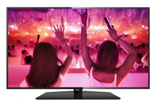 Телевизор Philips 49PFT5301/60 черный телевизор philips 40pft4100 60 fhd pmr 100 черный
