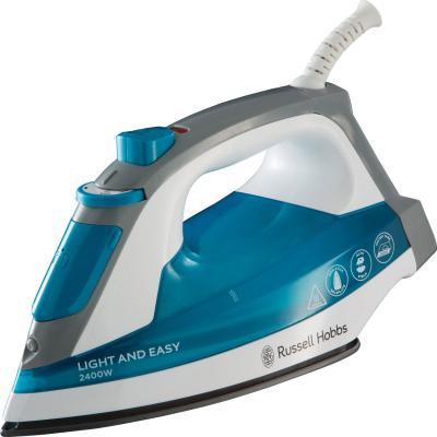 Утюг Russell Hobbs Light Easy 23590-56 2400Вт синий белый цена и фото