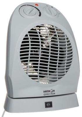 Тепловентилятор Аксион ТВ-12 1600 Вт термостат поворот корпуса вентилятор серый