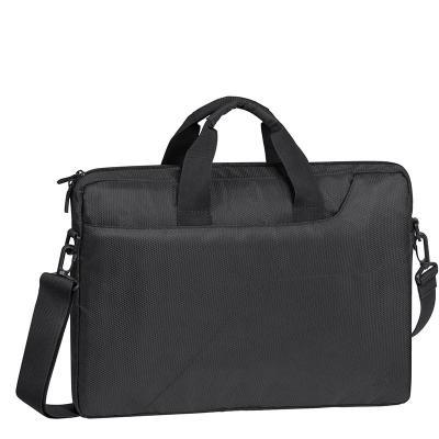 "Сумка для ноутбука 15.6"" Riva 8731 grey полиэстер темно-серый riva 7209 nl slr case grey сумка для фотокамеры"