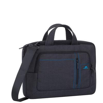 Сумка для ноутбука 13.3 Riva 7520 полиэстер черный сумка для ноутбука 10 riva 8010 полиэстер черный