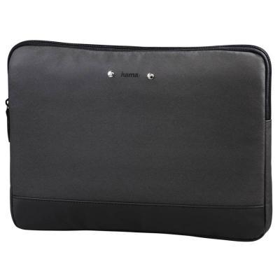 "Чехол для ноутбука 15.6"" HAMA Ultra Style полиуретан черный 101531"