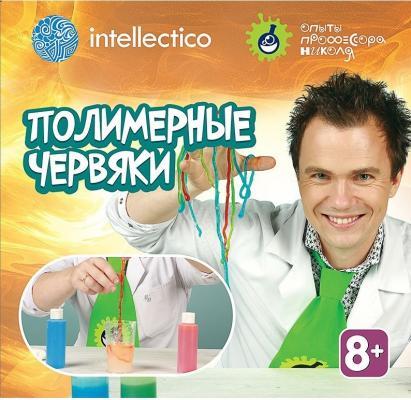 """Набор для опытов INTELLECTICO с профессором Николя """"Полимерные червяки"""" 853 intellectico набор для опытов с профессором николя горячий лёд"""
