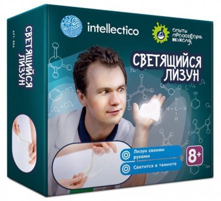 Набор для экспериментов INTELLECTICO Опыты профессора Николя - Лизуны светящиеся  856 набор для создания духов intellectico апельсин mini