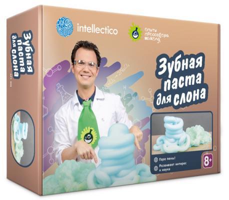 """Набор для экспериментов INTELLECTICO """"Опыты профессора Николя"""" - Зубная паста для слона  858"""