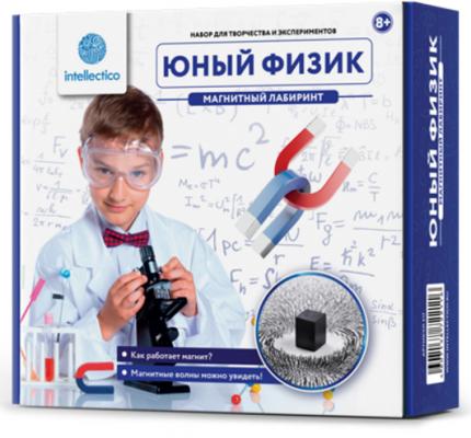 Игровой набор INTELLECTICO Юный физик Магнитный лабиринт 211 магнитный лабиринт в минске