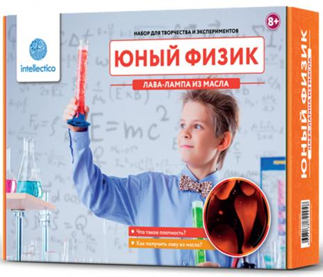 """Набор для опытов INTELLECTICO """"Юный физик"""" - Лава-лампа из масла  204"""