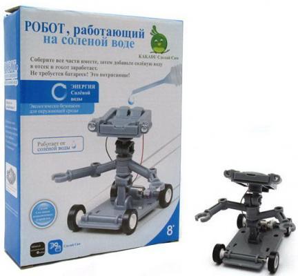 Игровой набор Kakadu Сделай Сам Робот, работающий на солёной воде игровой набор kakadu сделай сам робот работающий на солёной воде