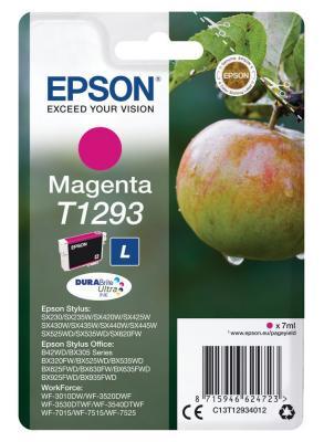 Картридж Epson C13T12934012 для Epson St SX420/425/525WD/B42WD/BX320FW пурпурный картридж epson t009402 для epson st photo 900 1270 1290 color 2 pack