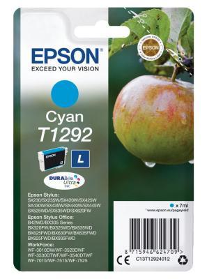 Картридж Epson C13T12924012 для Epson St SX420/425/525WD/B42WD/BX320FW/BX625WFD голубой original cc03main mainboard main board for epson l455 l550 l551 l555 l558 wf 2520 wf 2530 printer formatter