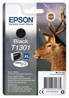 Картридж Epson C13T13014012 для Epson B42WD черный картридж epson t1291 черный [c13t12914011]