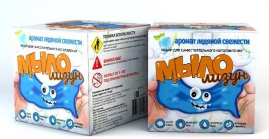 Набор для изготовления мыла Инновации для детей Мыло-лизун - Ледяная свежесть от 6 лет 831 набор для опытов инновации для детей 835 мыло лизун тропический фреш