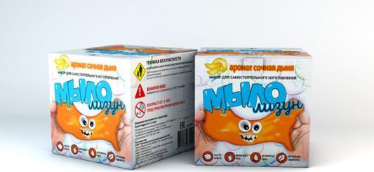 Набор для изготовления мыла Инновации для детей Мыло-лизун - Сочная дыня от 3 лет 836 набор для опытов инновации для детей 835 мыло лизун тропический фреш