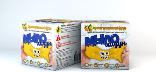 Купить Набор для изготовления мыла Инновации для детей Мыло-лизун - Тропический фреш от 3 лет 835, Изготовление мыла и свечей