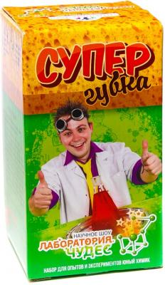 """Игровой набор Инновации для детей Юный Химик """"Супергубка"""" 806 наборы для творчества инновации для детей набор юный химик секретная лаборатория"""