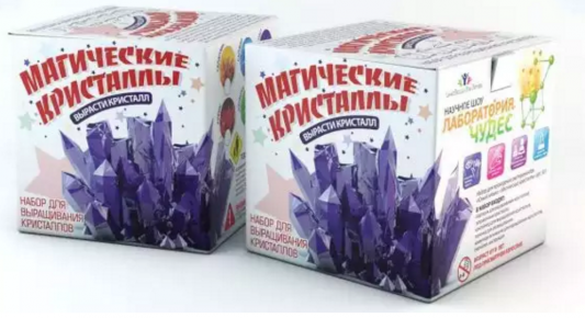 Игровой набор Инновации для детей Инновации для детей Магические Кристаллы 502 инновации для детей вода и медные трубы