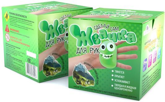 """Игровой набор Инновации для детей Юный Химик """"Жвачка для рук - Альпийские луга"""""""