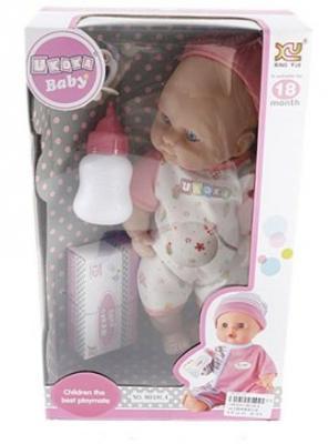 Кукла-младенец Shantou Gepai 8018L4 28 см плачущая смеющаяся говорящая цены онлайн