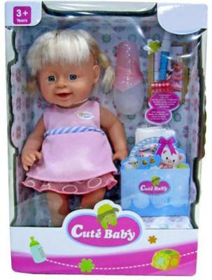 Кукла-младенец Shantou Gepai Прелестная малышка Y16203244 40 см писающая пьющая