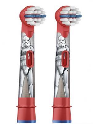 Насадка для зубной щётки Braun Oral-B Kids Stages Starwars EB10K 2шт насадки для зубной щетки oral b eb10k kids frozen