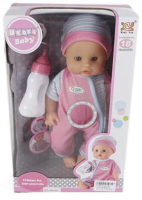 Кукла-младенец Shantou Gepai 8018B 30 см пьющая писающая