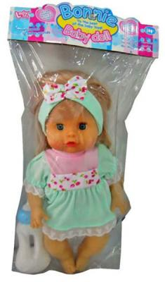 Купить Кукла Shantou Gepai Марта Y4071640 32 см пьющая, ПВХ, Интерактивные куклы