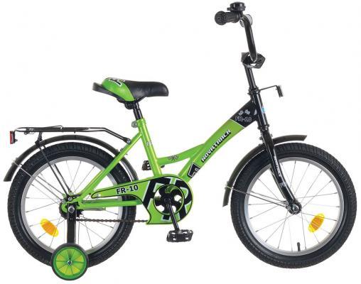 Велосипед Novatrack FR-10 16 зеленый 4602010339321 велосипед novatrack fr 10 20 077377 фиолетовый
