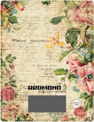 Весы кухонные Redmond RS-736 рисунок цветы