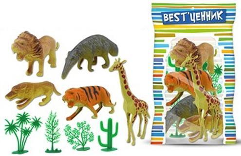 Игровой набор S+S Toys Дикие животные ролевые игры s s toys игровой набор касса