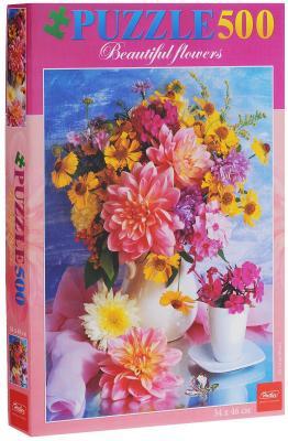 Пазл Hatber Романтический букет 500 элементов 500ПЗ2_02480 пазл hatber райский сад 340x460mm 500пз2 16969