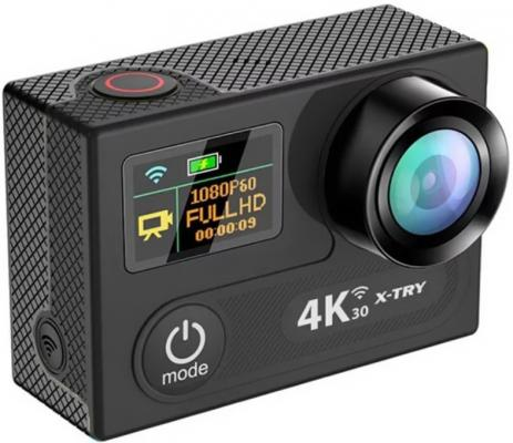 Экшн-камера X-TRY XTC220 черный