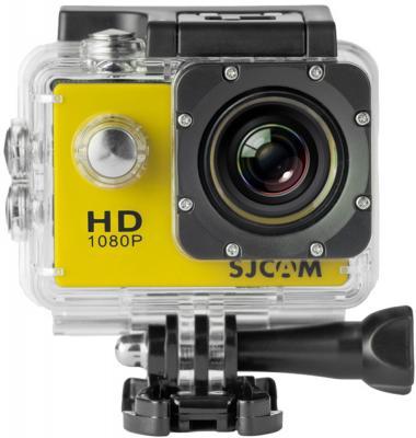 Экшн-камера SJCAM SJ4000 желтый экшн камера sjcam sj5000 wifi 1080p wifi желтый [sj5000wifiyellow]