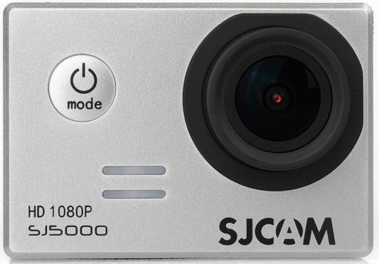 Экшн-камера SJCAM SJ5000 серебристый sjcam sj5000 wifi black экшн камера