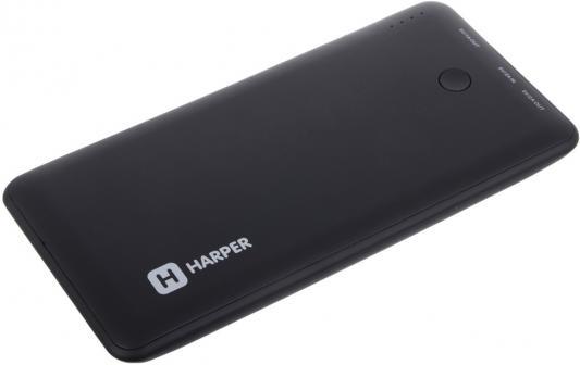 Внешний аккумулятор Harper PB-10001 10000 mAh черный