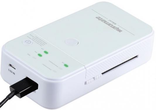 Внешний аккумулятор Promate Moxi 5000 мАч белый promate linkmateduo белый